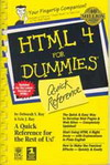 HTML 4 for Dummies Quick Reference (BK0603000346)