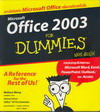 Microsoft Office 2003 for Dummies (BK0703000262)